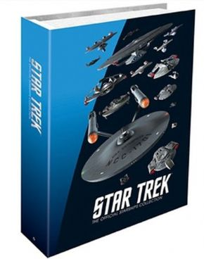 Star Trek Starships Collection Federation Binder Eaglemoss Publications